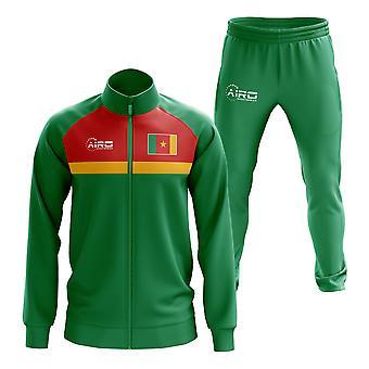 Камерун Концепция футбольный спортивный костюм (зеленый)