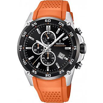 Festina Original Quartz Analog Man Watch z silikonową bransoletą F20330/4