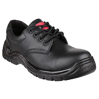 Centek Mens FS311C Lace-up Safety Shoe Black