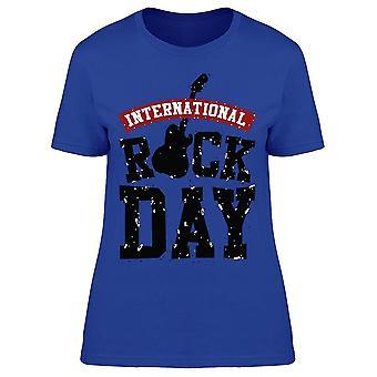 International rock roll Day tee kvinnor ' s-bild av Shutterstock