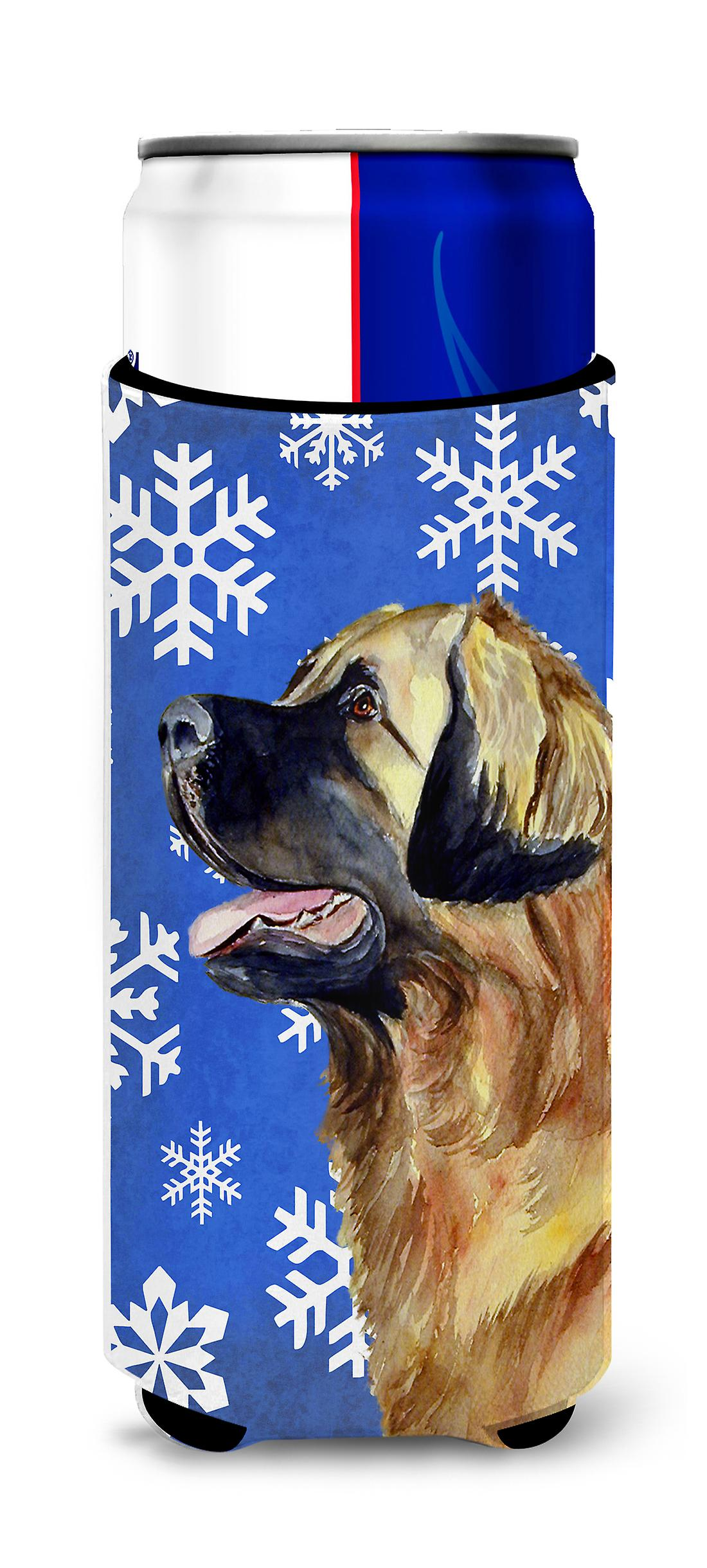 Leonberger Winter Snowflakes Holiday Ultra Beverage ...
