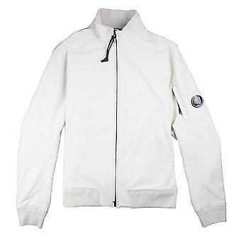 CP Company Soft Shell Lens Jacket White