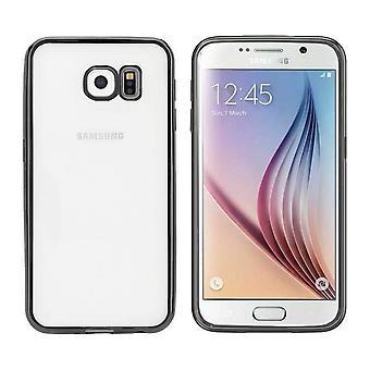 Samsung S7 Edge Case Black - Tylna obudowa zderzaka Clear