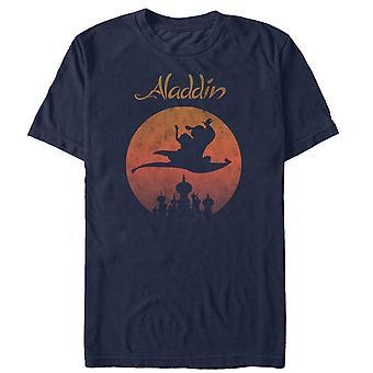 Aladdin Magic Carpet bleu marine tee shirt