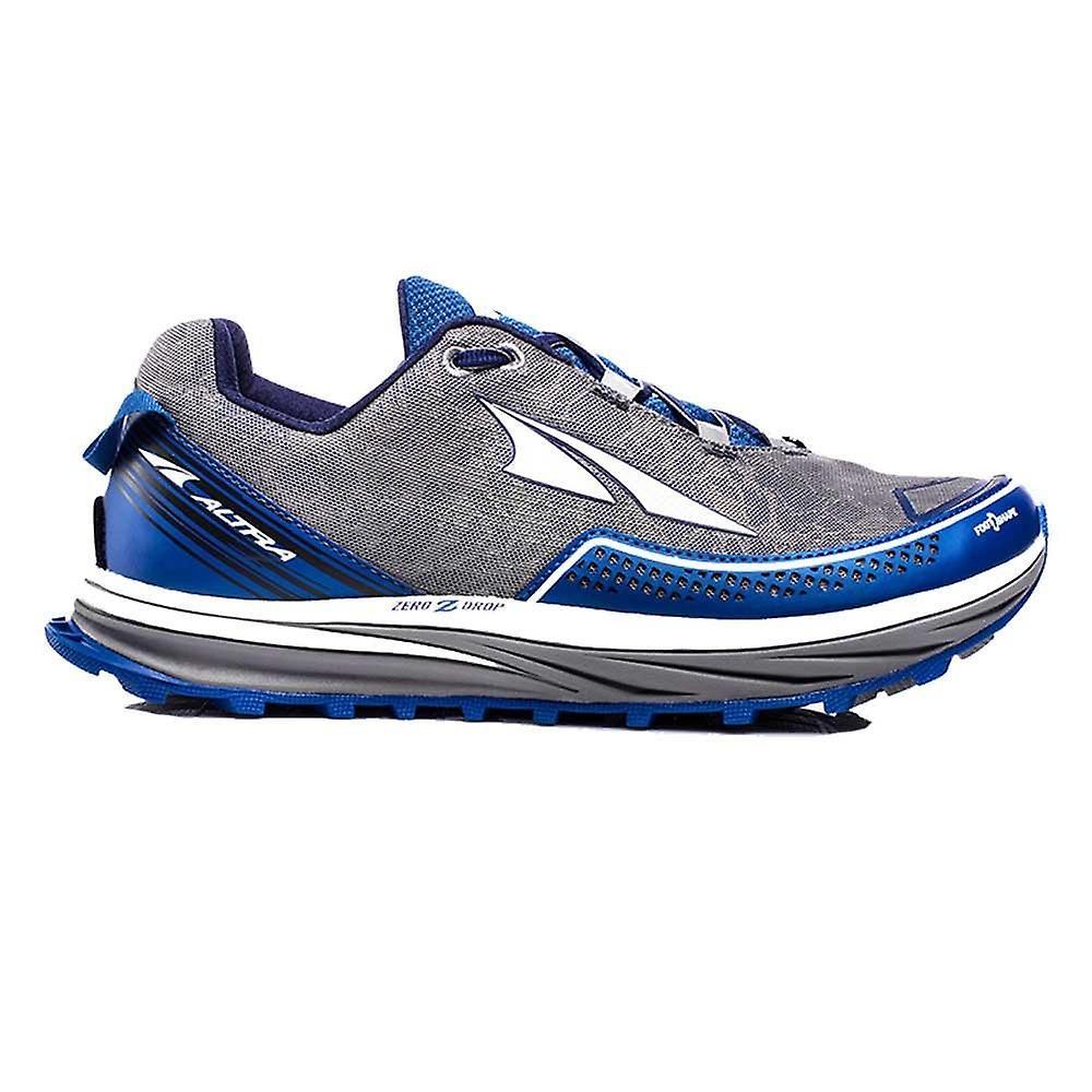 Altra Timp 1.0 Mens Zero Drop & Foot Shape Trail Running Shoes Blue