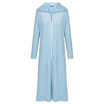 Féraud 3883036-11828 Women's Powder Blue Robe Loungewear Bath Dressing Gown