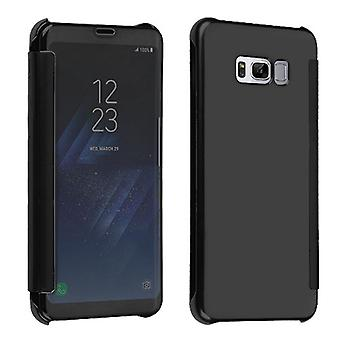 MYBAT Black Electroplating High-gloss Executive Protector Cover for Galaxy S8 Plus
