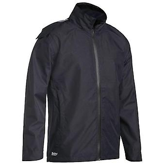 Bisley Lightweight Mini Ripstop Rain Jacket Concealed Hood