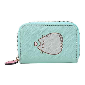 Pusheen Mini Purse Carry me Everywhere Logo new Official Blue