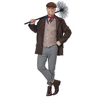 Chimney Sweep Bert Mary Poppins Victorian Story Book Week Adult Mens Costume