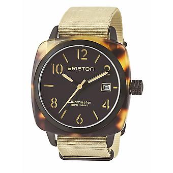 Briston 14240.PBAM.TS.5.NK Clubmaster Classic Safari Wristwatch