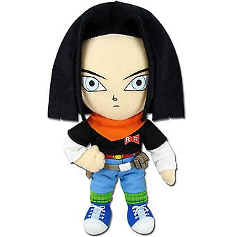 Plush - Dragon Ball Z - New Android #17 8'' Soft Doll Anime Licensed ge52718
