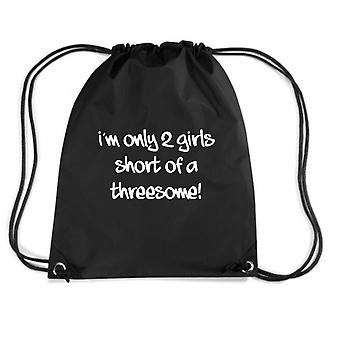 Black backpack fun3082 girls short