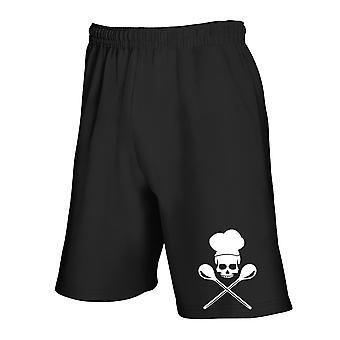 Pantaloncini tuta nero wes0198 cook crossbones