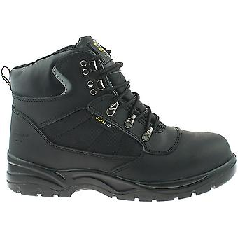 Grafters Mens segurança alpinista impermeável tipo dedo Cap botas