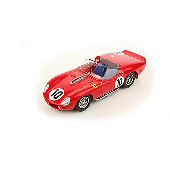 Ferrari TR61 Number 10 (Phil Hill - Le Mans Winner 1961) Resin Model Car