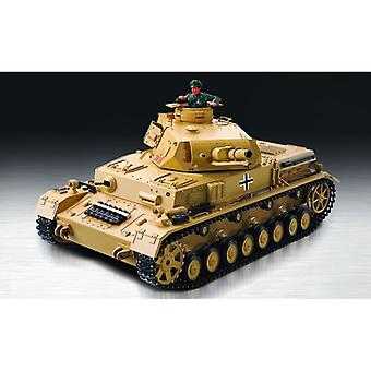 Heng Long RC Tank 1:16 BattleCar IV Ausf-F-1, Smoke, Sound, Shot Function