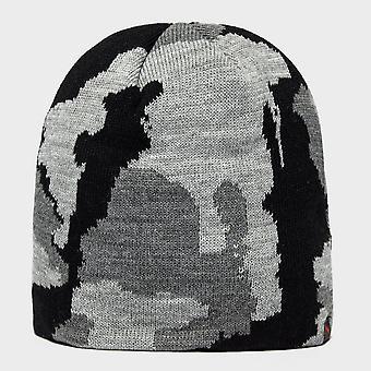 Peter Storm Men's Justin Camo Beanie Hat Black
