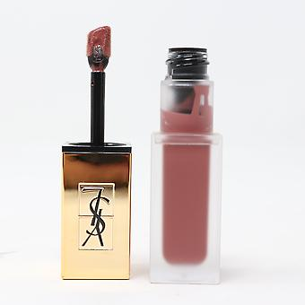 Yves Saint Laurent Matte Stain Lip Gloss 23 Singolare Taupe 0.2oz/6ml Nuovo In Box