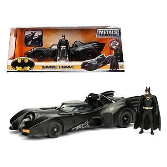 1989 Batmobile With Diecast Batman Figure 1/24 Diecast Model Car By Jada