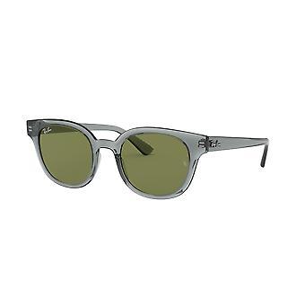 Ray-Ban RB4324 64504E Grey/Green Sunglasses