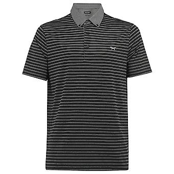 Wolsey Mens Stripe Breathable Lightweight Stretch Golf Polo Shirt