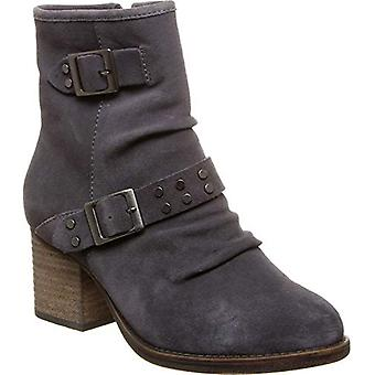 Bearpaw Amethyst - Women's Heeled Boot - 2157w Charcoal -, Charcoal, Size 6.5