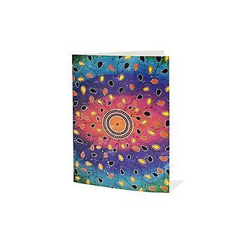 Monet näkö kohdat minulle Aboriginal tervehdys kortti tyhjä sisällä