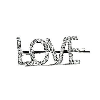 Hairpin with text - Love