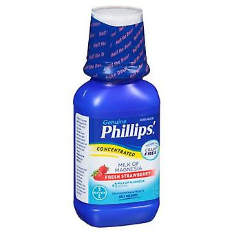 Phillips' concentrated milk of magnesia, fresh strawberry, 8 oz