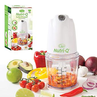 Quest Nutri-Q Turbo Food Chopper 260 Watt White