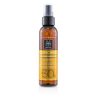 Suncare Tanning Body Oil SPF 30 With Sunflower & Carrot 150ml/5oz