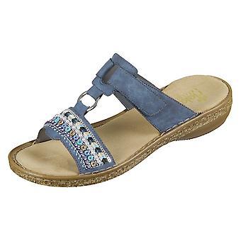 Rieker Keil Sandalen 628M614 universal Sommer Damen Schuhe