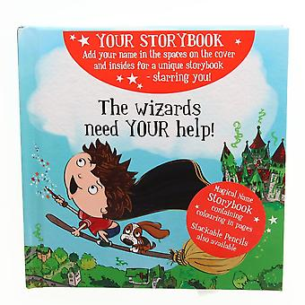 History & Heraldry Magical Name Storybook - The Wizards Need Your Help