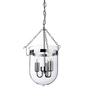 Firstlight Flux Traditional American Polished Chrome Ceiling Lantern Light