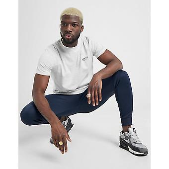 New McKenzie Men's Essential Short Sleeve T-Shirt Grey