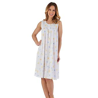 Slenderella ND55115 Women's Floral Nightdress
