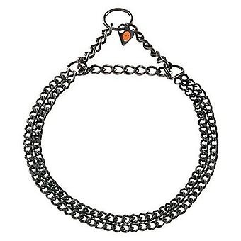 HS Sprenger Collar Doble 2Mm Acero Inoxidable Negro 55 Cm