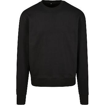 Cotton Addict Mens Premium Oversize Crew Neck Sweatshirt