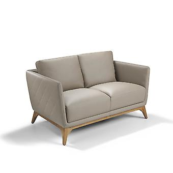 Angel cerdá - sofá de cuero de 2 plazas akasha