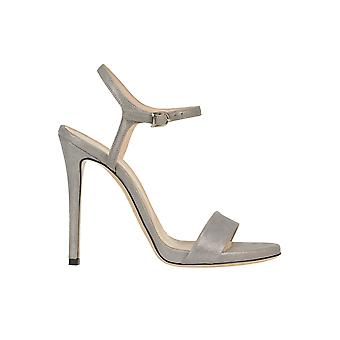 Marc Ellis Ezgl057060 Women's Silver Leather Sandals