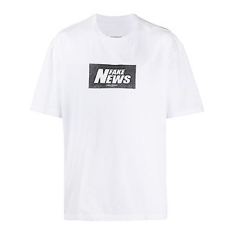 Maison Margiela S30gc0705s22816100 Men's White Cotton T-shirt