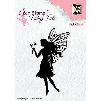 Nellie's Choice Clearstamp silhouette Fairy Tale Nr 7 FTCS007