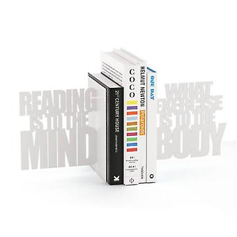 Bookend Reading is to the Mind-White