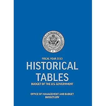 Historical Tables Budget of the U.S. Government Fiscal Year 2013 Historical Tables Budget of the United States Government by Office of Management and Budget