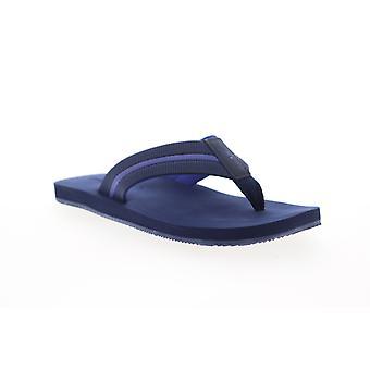 Tommy Bahama Taheeti Mens Blue Flip-Flops Sandals Schoenen