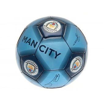 Manchester City FC Signatur Ball