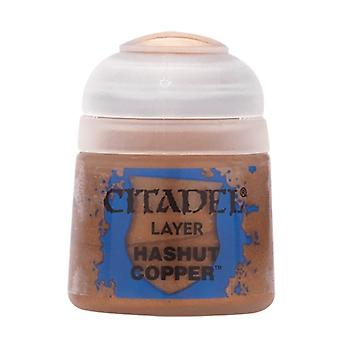 Hashut Copper (12ml), Citadel Paint - Layer, Warhammer 40,000/Age of Sigmar
