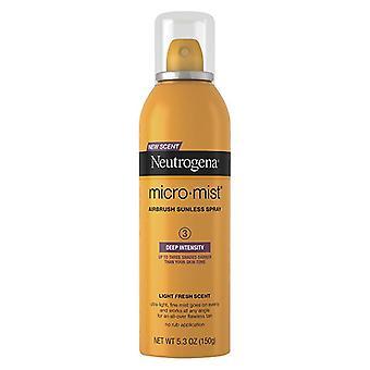 Micromist Neutrogena, de bronzage sans soleil spray, profond, 5,3 oz