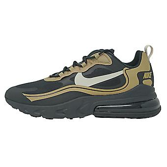 Nike Air Max 270 React Black Gold Shoes